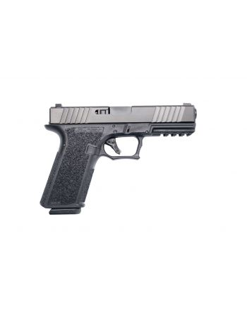 Polymer80 PFS9 Full Size 9mm (Threaded/Fluted Barrel & Night Sights) Pistol - 10RD  Black (PRE-ORDER)