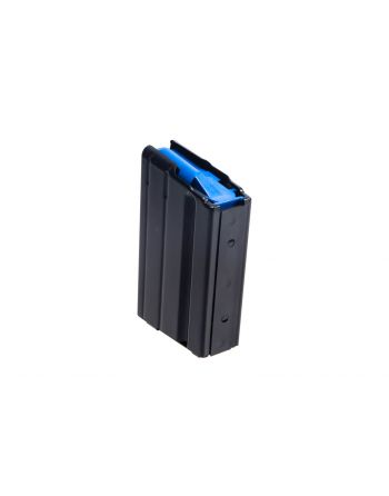C Products 6.5 Grendel Stainless Steel Magazine w/ Blue Follower - 5Rd