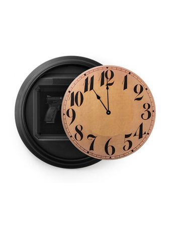 Tactical Walls 1410M Tactical Wall Black Clock