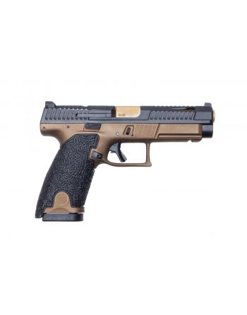 Danger Close Armament CZ P-10L Optics-Ready 9MM Signature Pistol - Burnt Bronze