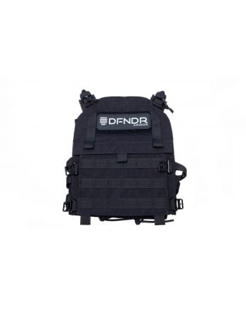 DFNDR Armor QRC Plate Carrier - Large - Black
