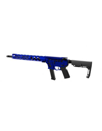"LEAD STAR ARMS BARRAGE - SKELETONIZED 9MM COMPETITION EDITION PCC RIFLE - 16"" BLUE"