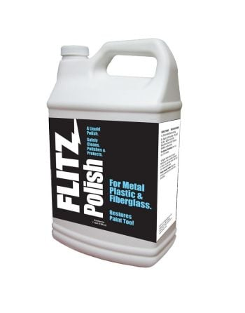 Flitz Metal, Plastic and Fiberglass Liquid Polish - 128oz