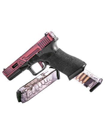 Elite Tactical Systems Glock 9mm, 27 round mag / Competition Legal (170mm)