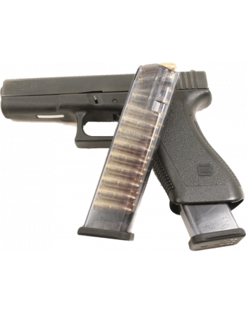 Elite Tactical Systems Group Glock 9mm 22 round mag / Competition legal 140mm magazines