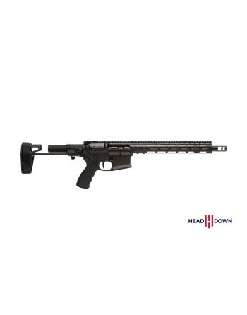 "Head Down Firearms HD15 .223 Wylde Pistol - 12.5"" Black (Master Series)"
