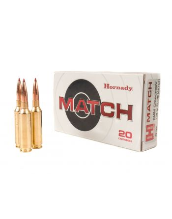Hornady 6mm Creedmoor 108GR ELD Match Ammunition - 20 RD Box