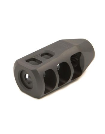 Precision Armament - M11 Severe Duty Muzzle Brake DLC Blk .264/6.5