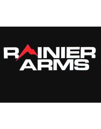 Rainier Arms Decal/Sticker White