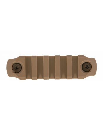 "Bravo Company MFG (BCM) GUNFIGHTER KeyMod Nylon Rail - Flat Dark Earth 3""/5 slot"