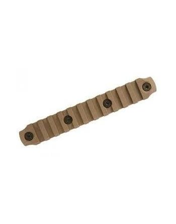"Bravo Company MFG (BCM) GUNFIGHTER KeyMod Nylon Rail - Flat Dark Earth 5""/11 slot"