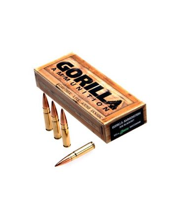 Gorilla Ammunition 300BLK 125gr Sierra Match King 20rd