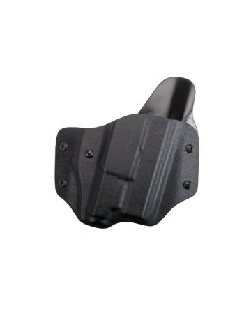 KR: OWB Pancake Holster Glock 19 23 32 1.75 RH FBI 15 Degree Inforce Light