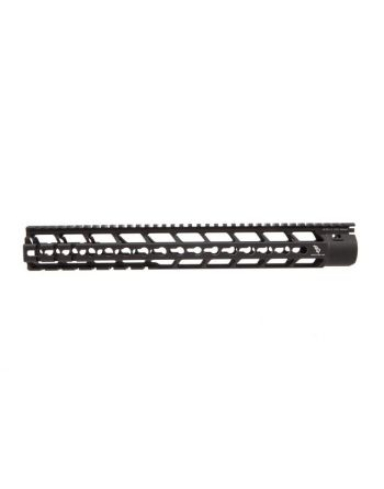 Bootleg AR-15 PicMod Handguard With KMR Mounting Hardware-15""