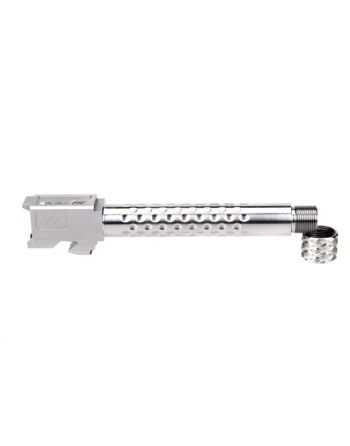 Zev Technologies Match Grade G17 Suppressor Threaded Dimpled Barrel - Stainless