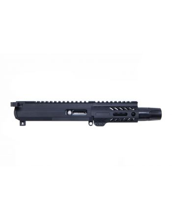 "Angstadt Arms AR-15 9mm Complete Upper Assembly - 4.5"" Suppressor Ready"