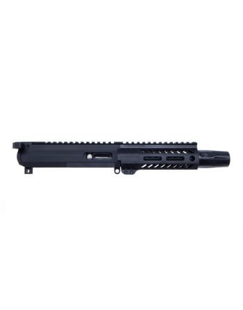 "Angstadt Arms AR-15 9mm Complete Upper Assembly - 6"" Suppressor Ready"