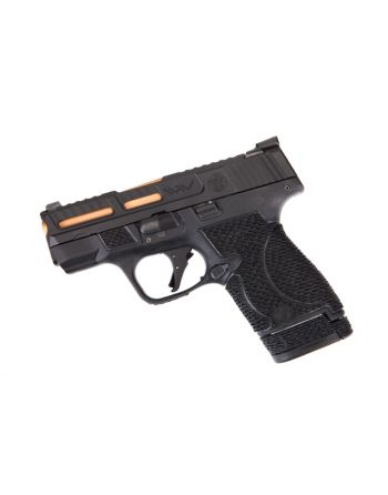 Wetwerks M&P Shield w/ Night Sights - Black w/ Black Trigger