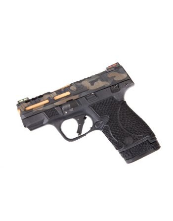 Wetwerks M&P Shield - Multicam w/ Black Trigger (Ported)