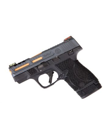 Wetwerks M&P Shield - Cobalt Grey w/ Black Trigger (Ported)