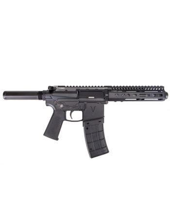 "V Seven 6.5"" Enlightened 300 BLK Out Pistol - M-LOK"