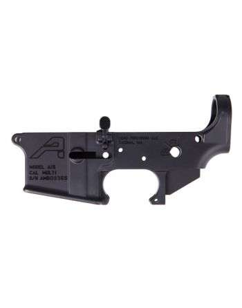 Aero Precision AR15 AMBIDEXTROUS STRIPPED LOWER RECEIVER GEN 2 - BLACK