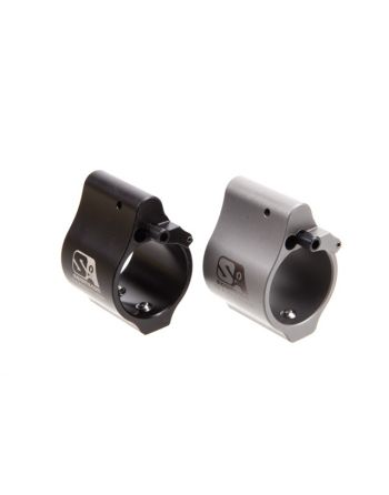 Superlative Arms Adjustable Gas Block Bleed Off Solid -.875