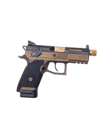 Danger Close Armament CZ P-07 Signature Pistol - Burnt Bronze/TiN