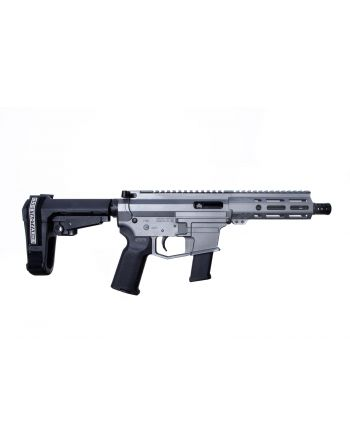 "Angstadt Arms UDP-9 9MM Pistol with SBA3 Brace - 6"" Tactical Grey Cerakote"