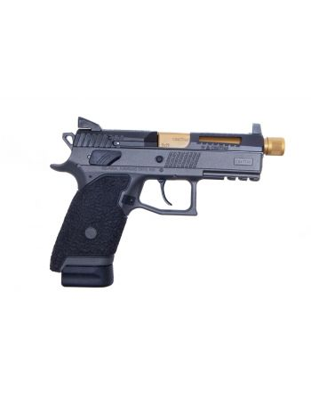 Danger Close Armament CZ P-07 Signature Pistol - Tungsten/TiN