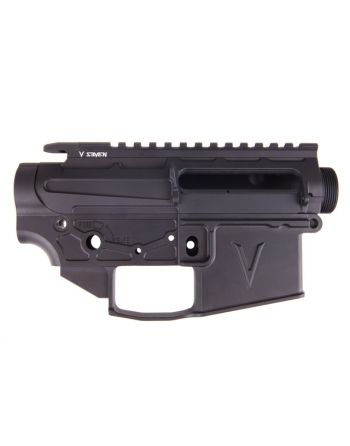 V Seven 2055 Lithium Aluminum Enlightened AR15 Receiver Set