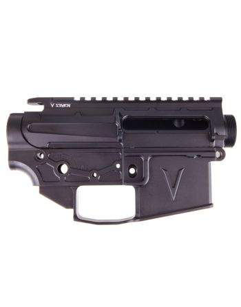 V Seven 7075 LR Enlightened AR-15 Receiver Set