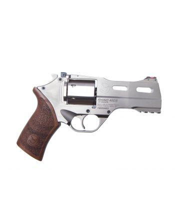 """Chiappa Firearms Rhino 40DS .357 Magnum Pistol - 4"""" Stainless Steel"""
