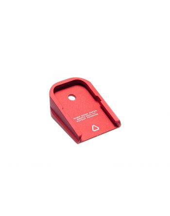 Strike Industries Aluminum Base Plate for GLOCK - Red