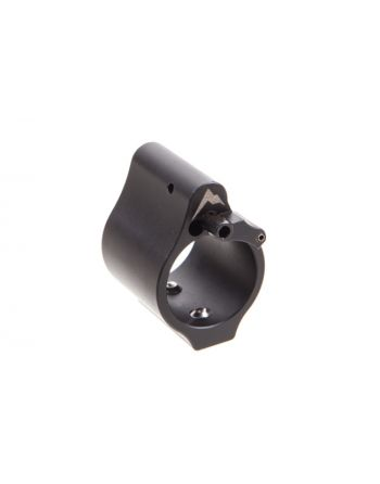 Rainier Arms Adjustable .800 Gas Block Solid Bleed Off - Black