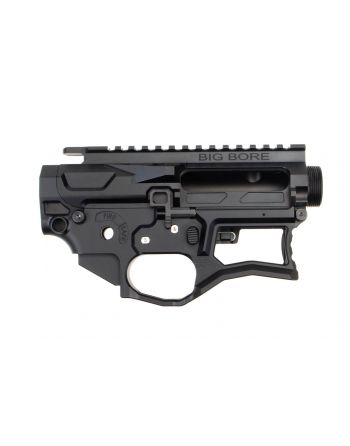 Ascend Armory AR-15 Matched Billet Receiver Set Skeletonized - Big Bore 6061 No Forward Assist (LIMITED EDITION)