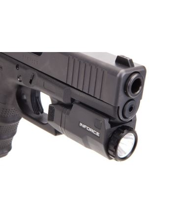 INFORCE APLc Gen3 Auto Pistol Light Compact GLOCK - Black