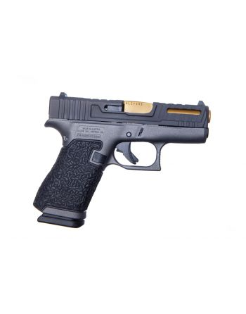 Danger Close Armament Glock 43X 9MM Signature Pistol - Tungsten/TiN