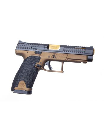 Danger Close Armament CZ P-10L 9MM Signature Pistol - Burnt Bronze