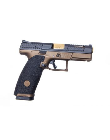 Danger Close Armament CZ P-10X 9MM Signature Pistol - Burnt Bronze