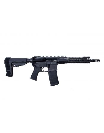 "Aero Precision M4E1 ATLAS S-ONE 5.56 Pistol - 10.5"" Black"