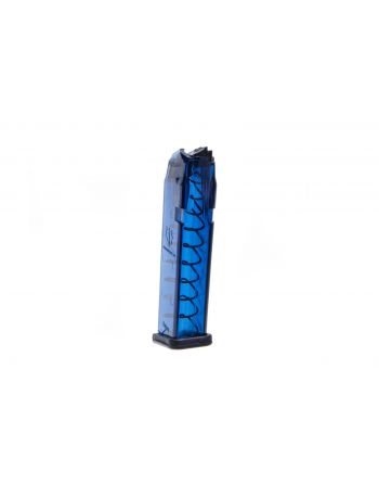 Elite Tactical Systems Group (Glock 17, 18, 19, 19x, 26, 34, 45) 9mm Magazine - 17-Round Blue
