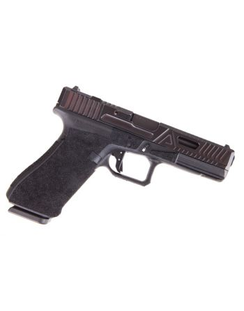 Agency Arms Glock 17 Gen 4 Urban Combat Battleworn Graphite and Red