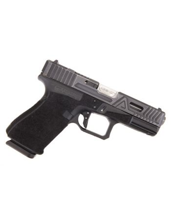 Agency Arms Glock 19 Gen 4 Pistol Urban Combat Battleworn Agency Gray -Agency SS Barrel