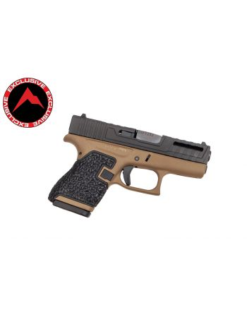 Danger Close Armament Glock 43 Signature Pistol - FDE (Rainier Arms Exclusive)