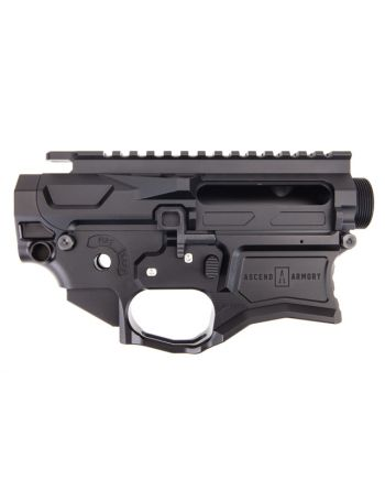 Ascend Armory AR-15 Matched Billet Receiver - No Forward Assist 7075