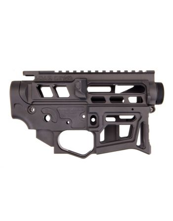 Lead Star Arms LSA-15 - Skeletonized AR-15 Receiver Set - Black
