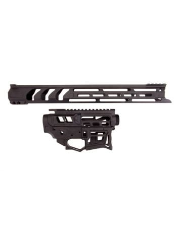 "Lead Star Arms LSA-15 - Skeletonized AR-15 Builder's Set with 17"" LSA-15 Free Float - Black"