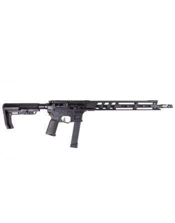 Lead Star Arms Barrage - Skeletonized 9MM Competition Edition PCC Rifle - Black