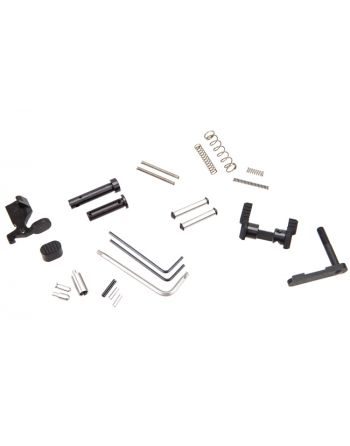Armaspec Gun Builder's Lower Parts Kit - Black